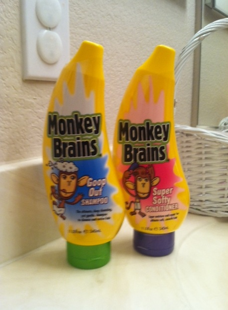 My S Literally Went Bananas When Our Fun Monkey Brains Goop Out Shampoo And Super Softy Conditioner Arrived Granted I Don T Have Tweens Yet