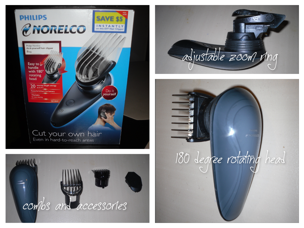 Obviously holiday philips norelco do it yourself hair clipper pro we received the 180 rotating head do it yourself hair clipper and it has been a lifesaver solutioingenieria Choice Image