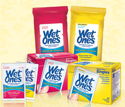 Wet Ones Help With TONS!