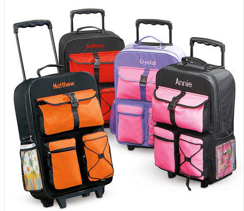 Lillian Vernon Kids Rolling Luggage | Obviously Marvelous