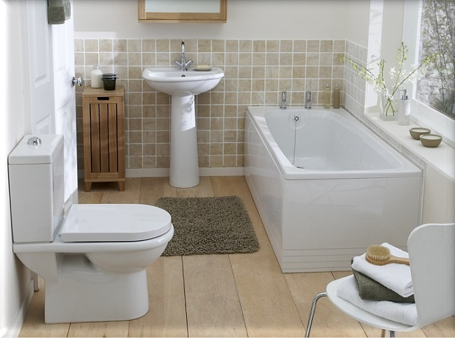 Awesome Many small bathrooms are hardly big enough to be functional so it is almost on the edge of crazy to consider a remodel right Compact spaces don ut have