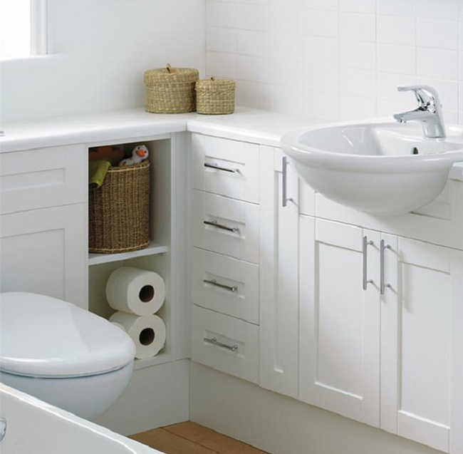 Great With the right ideas for your small bathroom remodel you can retain the functionality of your space yet still make it trendy and elegant as well