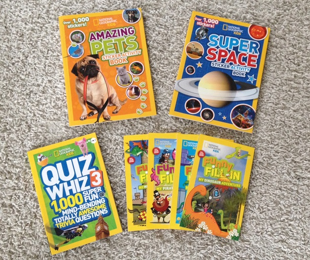 National Geographic Kids Books Summer Boredom Buster +